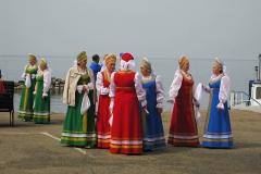 На празднике - Отдых в Листвянке