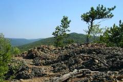 Скала неподалеку от Дома на Байкале - Отдых в Листвянке