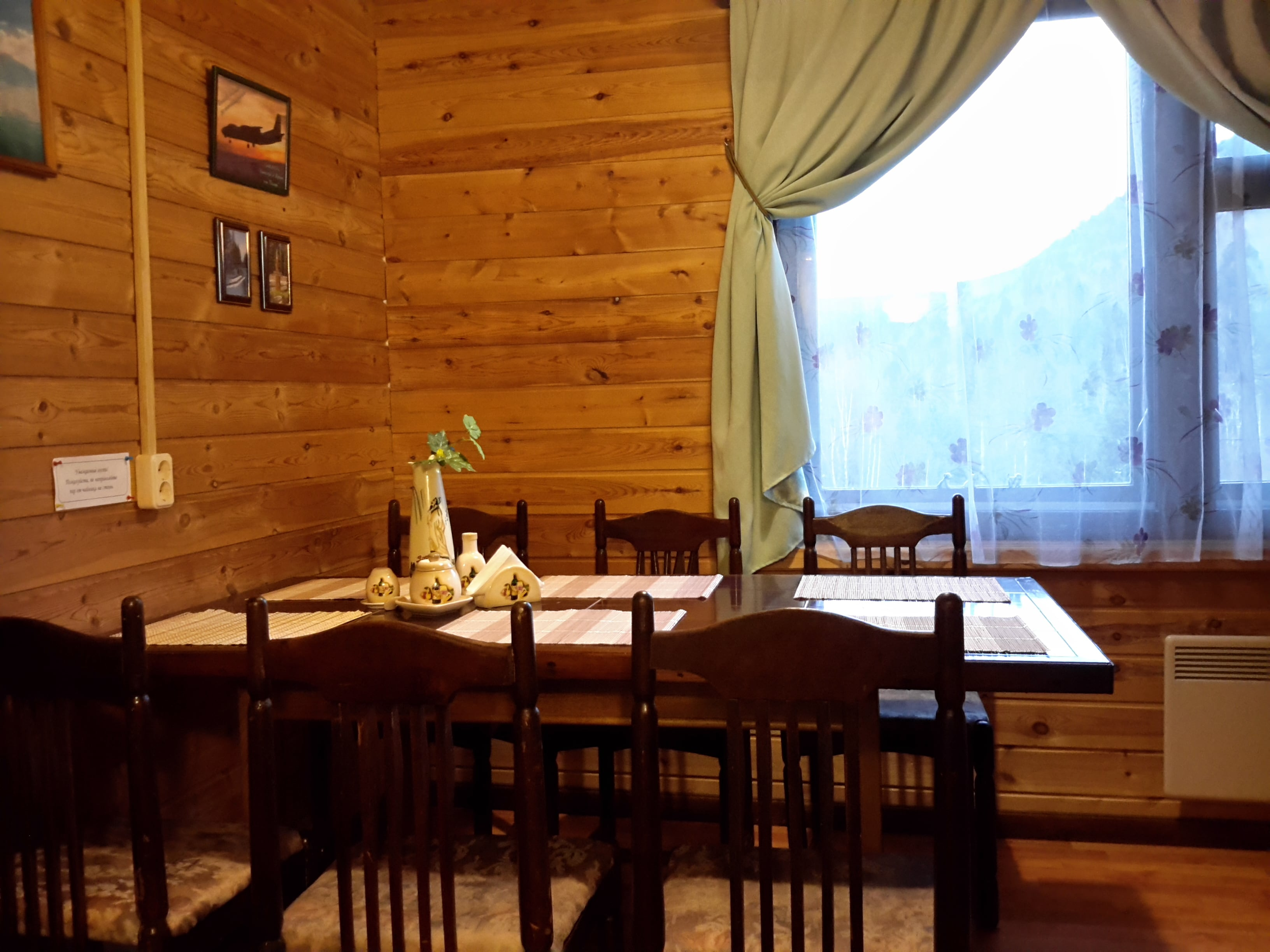 Living room - House on Lake Baikal