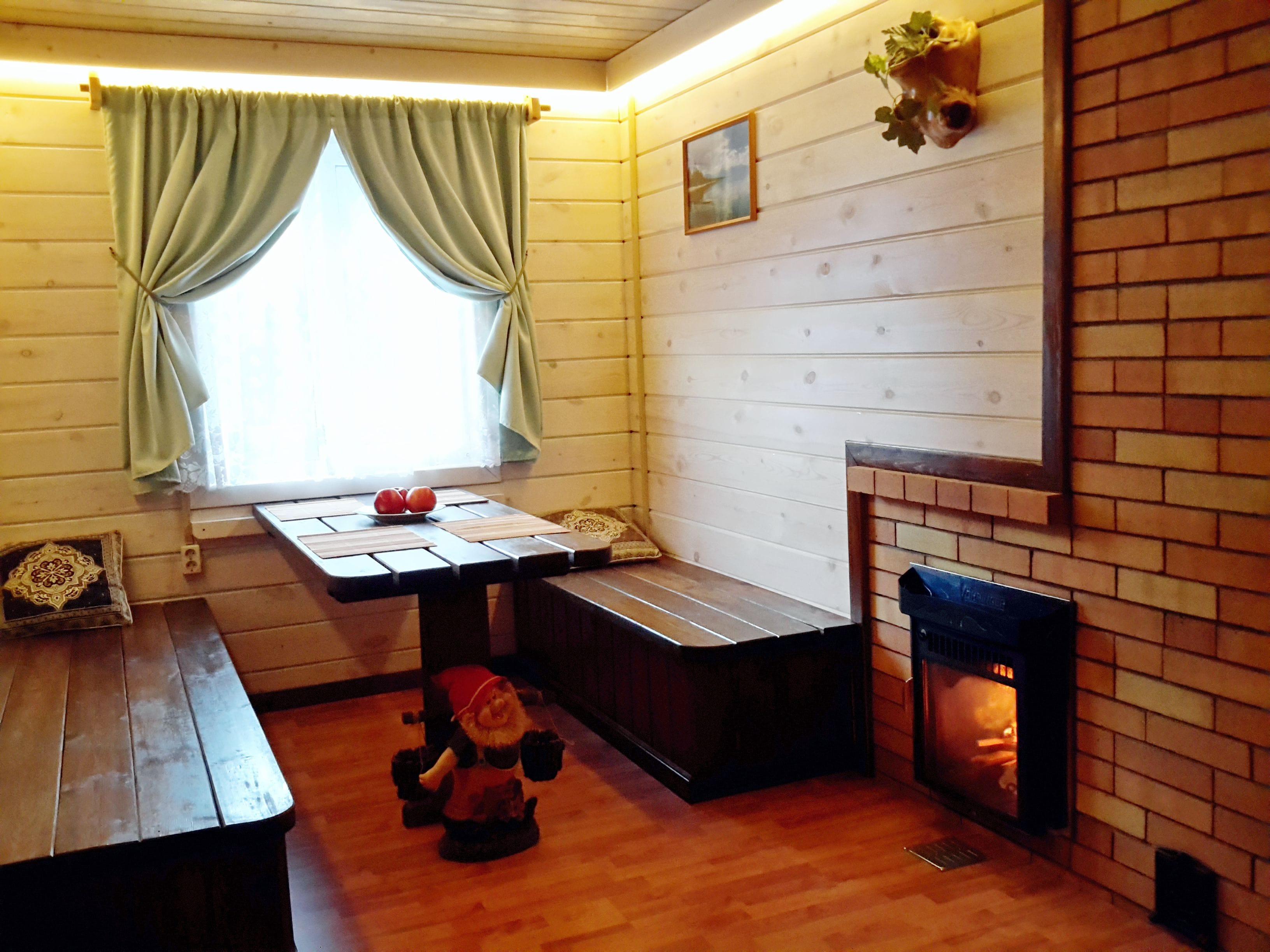 Комната отдыха в бане - Дом на Байкале