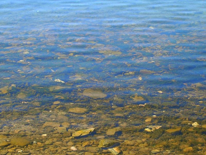 Прозрачная вода в Листвянке - Дом на Байкале