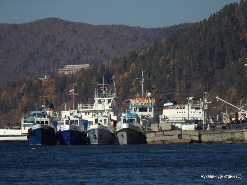Пристань в Листвянке - Дом на Байкале
